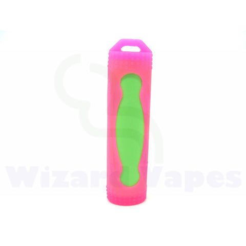 Protective Silcone Sleeve for 18650 Batteries (Pink)