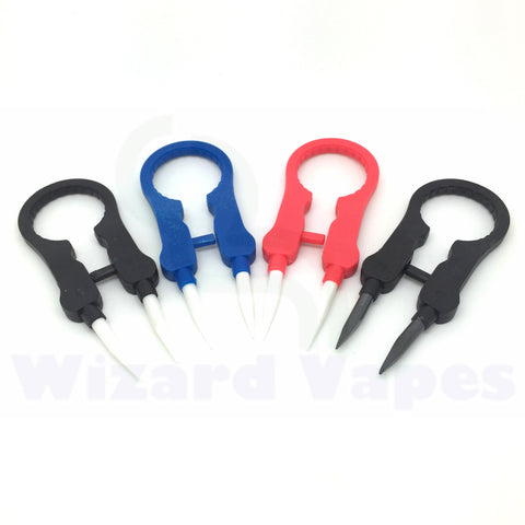 Vaper Twizer - Ceramic Tweezers & Atomizer Wrench
