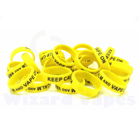 Vape Bands (Yellow)