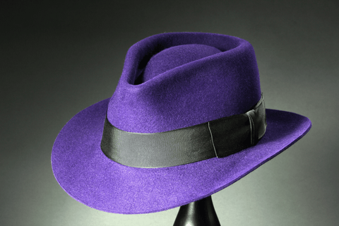 Ladies Fedora - Teardrop Crown