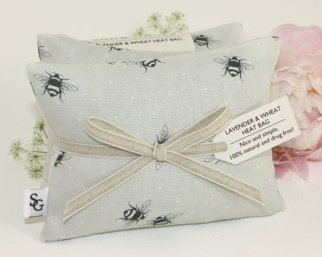 Bumble Bee Lavender & Wheat Heat Bag