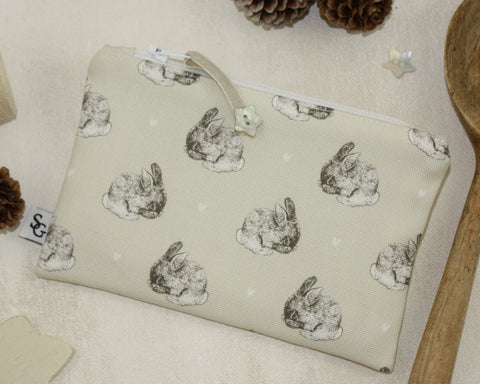 Cute Bunny Make-up Bag