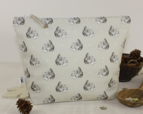 Cute Bunny Wash Bag