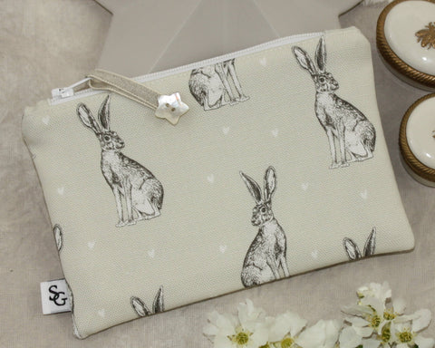 Hare Make-up Bag