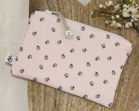 Ladybird Make-up Bag - pink