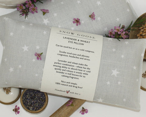Stars Lavender & Wheat Eye Pillow