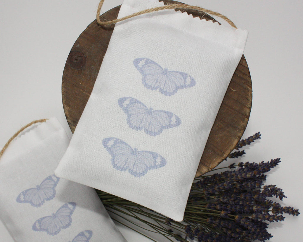 Butterfly Lavender Bag - mauve - Snow Goose UK  - 1