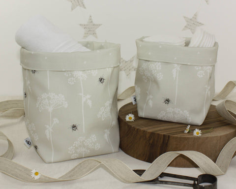 Cow Parsley Storage Baskets