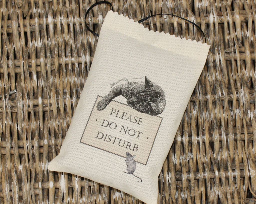 Please Do Not Disturb Lavender Bag - Snow Goose UK  - 1