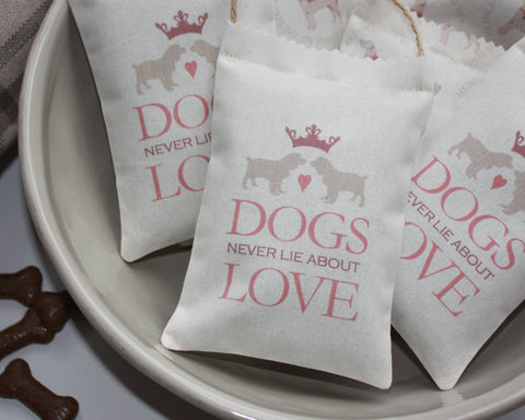 Dogs Never Lie Lavender Bag