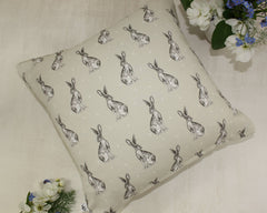 Hare Cuddle Cushion with Lavender