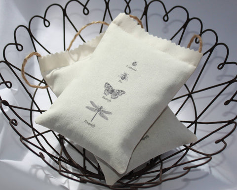 Insects Lavender Bag