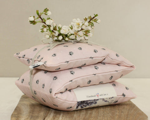 Ladybird Lavender & Wheat Heat Bag - pink