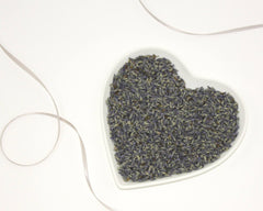 Bumble Bee Lavender Heart - grey
