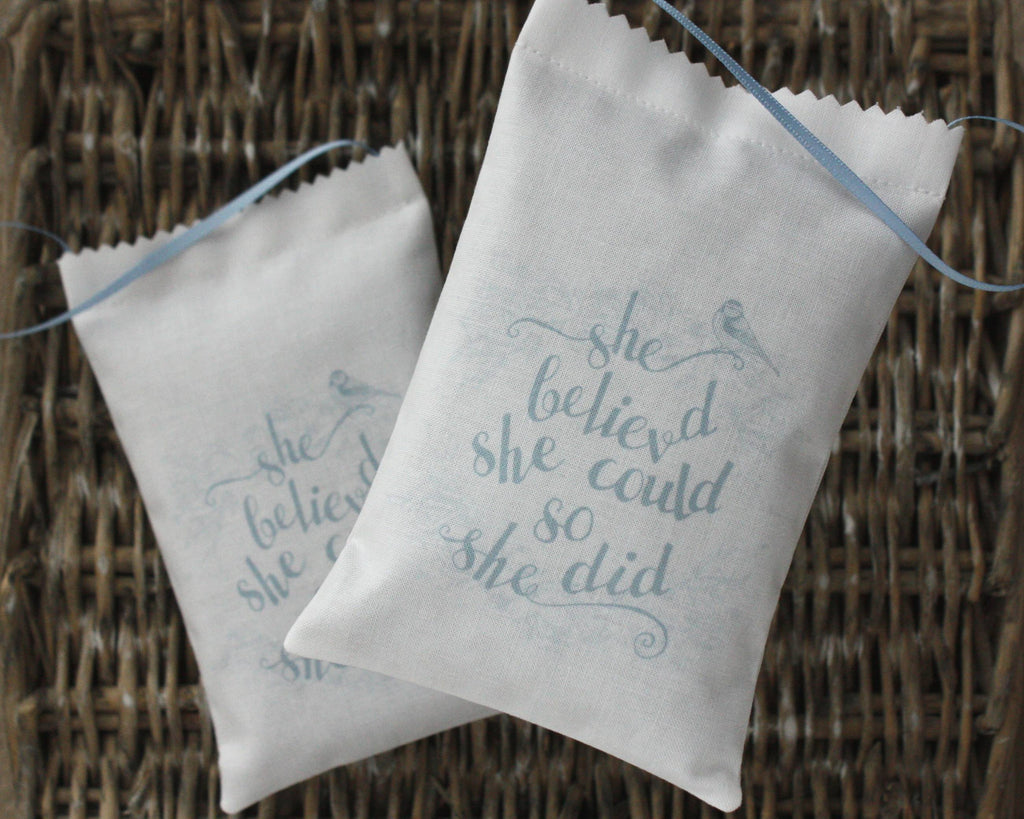 She Believed Lavender Bag - Snow Goose UK  - 1
