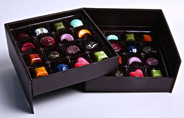 Hand-Painted Cielo Chocolate Bonbons (32 Piece Assorted Box)