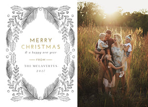 "The ""McLaverty"" Holiday Card"