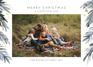 "The ""Weinrich"" Holiday Card"