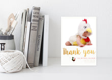 "The ""Year of the Rooster"" Thank You Card"