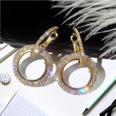 Crystal Dazzle Earrings