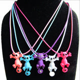 New Cute Cat Pendant Necklace For Women