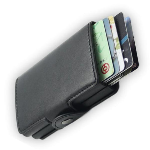 the latest 1755a 42101 Anti-Theft RFID Blocking Card Holder Wallet