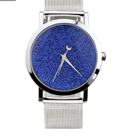 New Unique Style Elegant Night Sky Dress Watch For Women