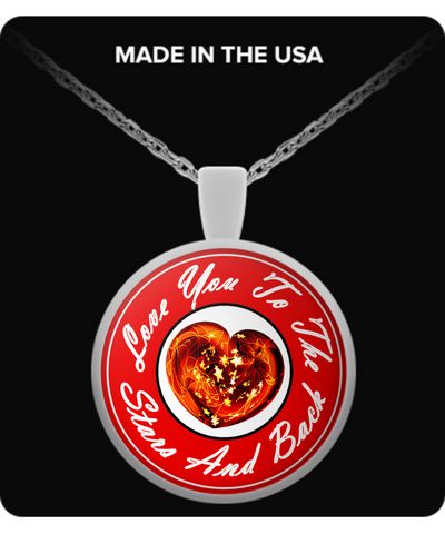 Love You Heart Pendant!
