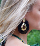 New Bohemian Style Fringe Drop Earrings
