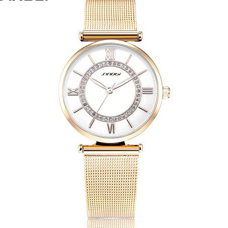 New High Quality Fashion Luxury Dress Wristwatch with Crystals