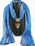 New Arrival - Top Quality Chiffon Sexy Leopard Print Pendant Long Ladies' Scarves