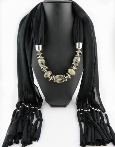 New Jewelry Beads Scarf for Women