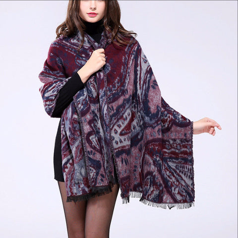 New Fashion Cozy Oversized Blanket Scarf Wrap