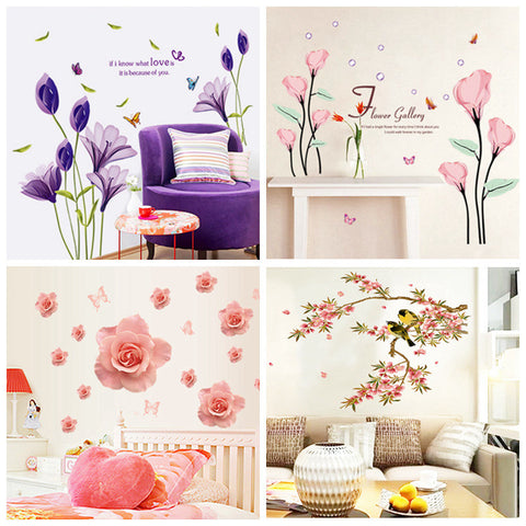 New Beautiful Wall Stickers In Multiple Colors And Patterns