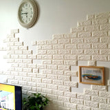 New Creative DIY 3D Brick Design Decorative Home Decal Wall Sticker 70 cm * 77 cm