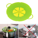 New Multi-function Silicon Pot/ Pan Boil Over Spill Lid Microwave Safe Cooking Kitchen Tool
