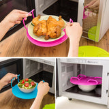New Multifunction Microwave Shelf Double Tray Organizer Kitchen Tool