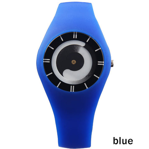 New Unique Creative Watch For Women Casual, Sports Watches with Rubber Strap