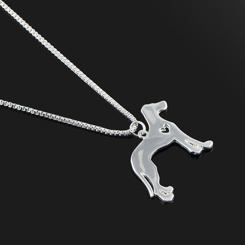 New Cute Dog Lovers Pendant Necklace