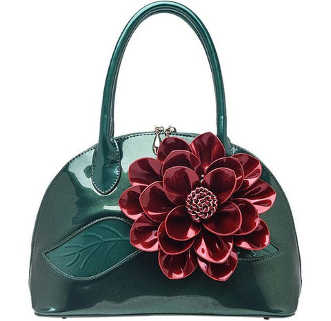 New Arrival Luxury Big Flower Design Handbag Shoulder Bag Messenger Bag