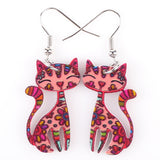 New Drop Cat Dangle Fashion Earrings Accessories