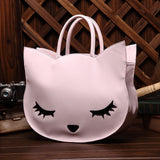 New Hot Fashion Cute Sleeping Cat Handbag