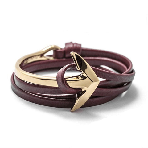 New Hot Trendy Fashion Unisex Anchor Bracelet