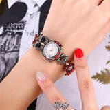 New Fashion Beautiful Crystal Owl Watch