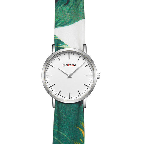 New Fashion Casual Fabric Wrap Watch Colors Of Nature Strap