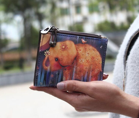 New Super Cute Baby Elephant, Panda, Owl Wallet Purse Coin Purse For Women