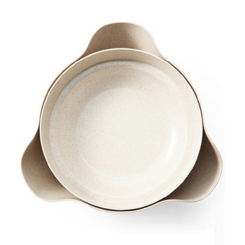 New Useful Double Bowl With Tray Dining/ Kitchen Tool