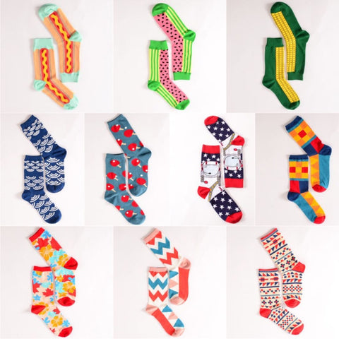 New Colorful Creative Happy Socks