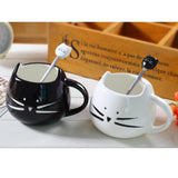 New Cute, Cat Lovers Ceramic Stailess Steel Tea/ Coffee/ Dessert Spoon Kitchen Tool