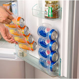 New Useful Refrigerator Storage Box, Beverage Can Space Saver Four Cans Kitchen Tool/ Organizer